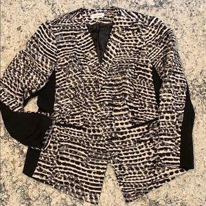 Calvin Klein 16W , open front jacket